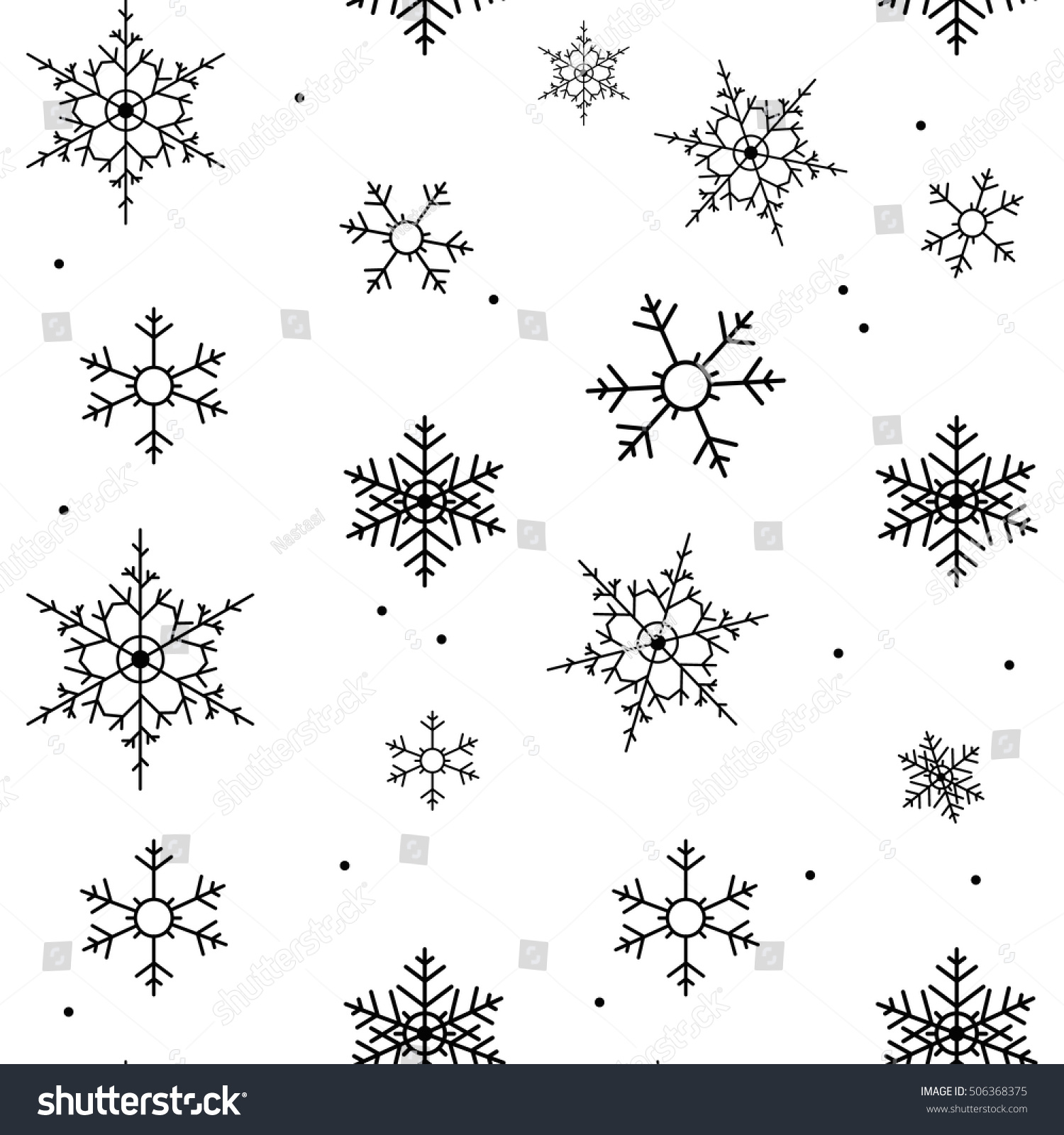 snowflake black and white background christmas texture happy new year