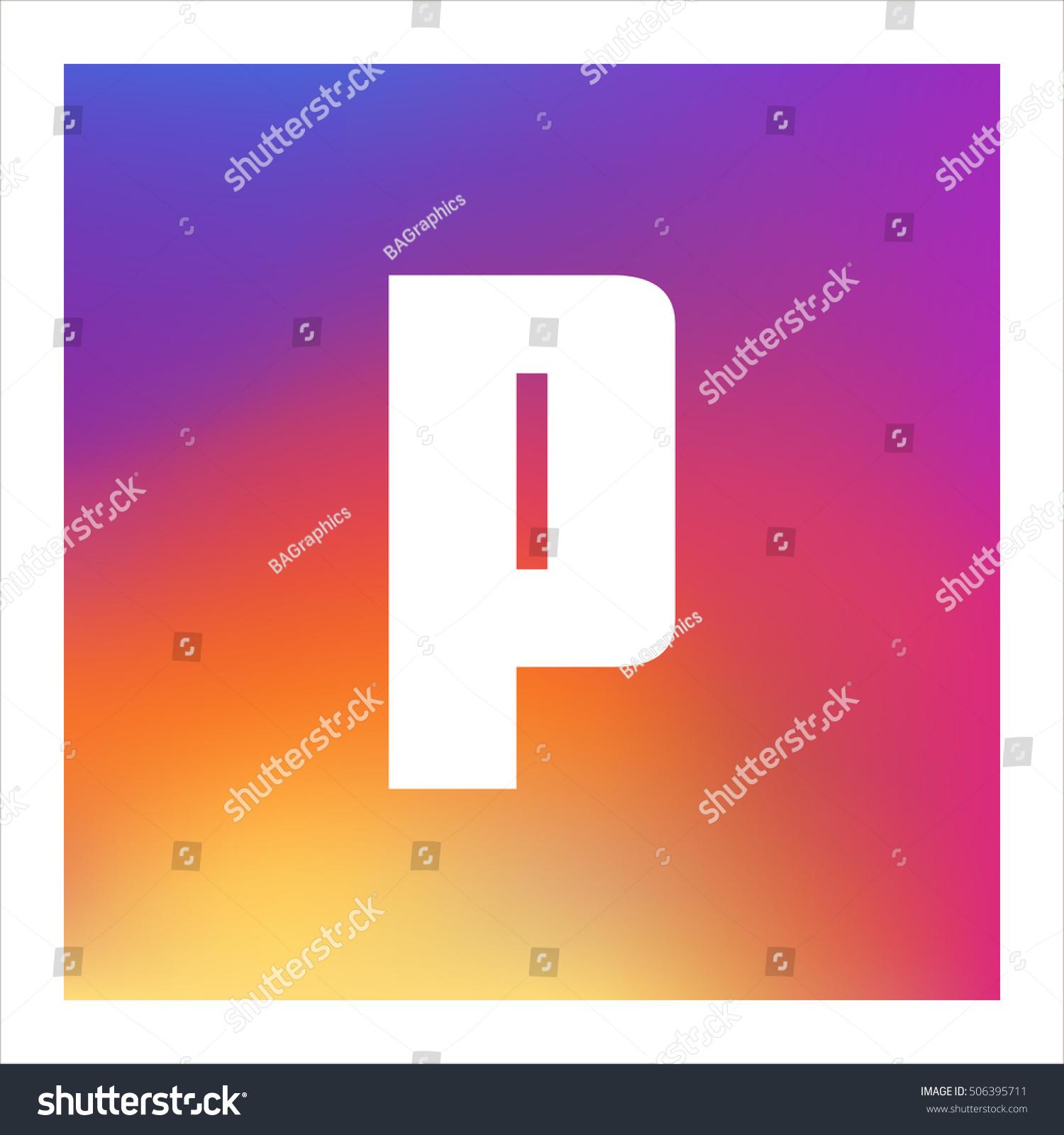 Letter p vector logo useful branding stock vector 506395711 letter p vector logo useful as branding symbol corporate identity alphabet element biocorpaavc