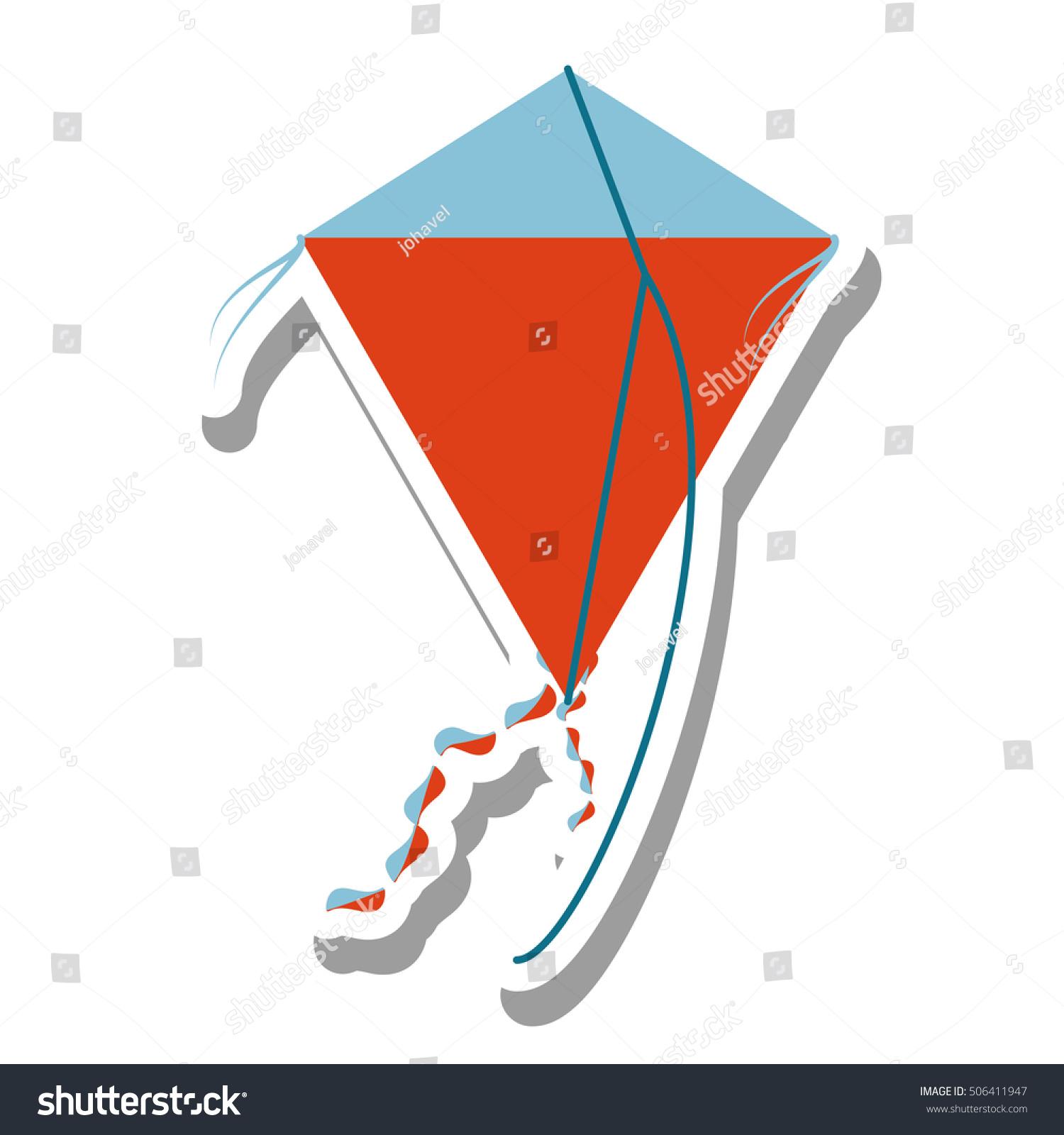 flying kite illustration - photo #39