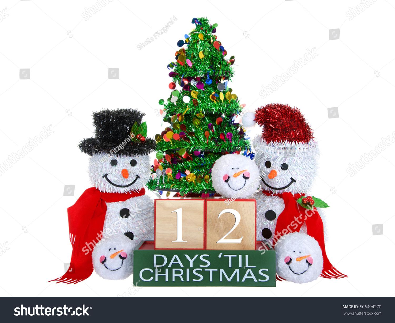 12 Days Until Christmas Light Beech Stock Photo (Edit Now) 506494270 ...