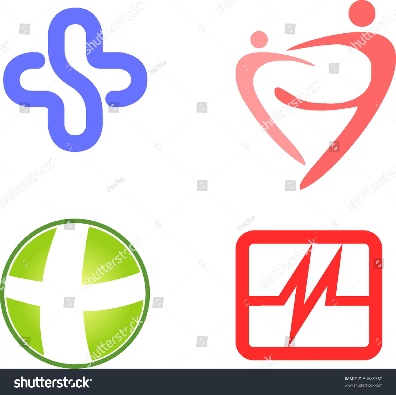 Symbols Health Stock Vector Royalty Free 50685760 Shutterstock