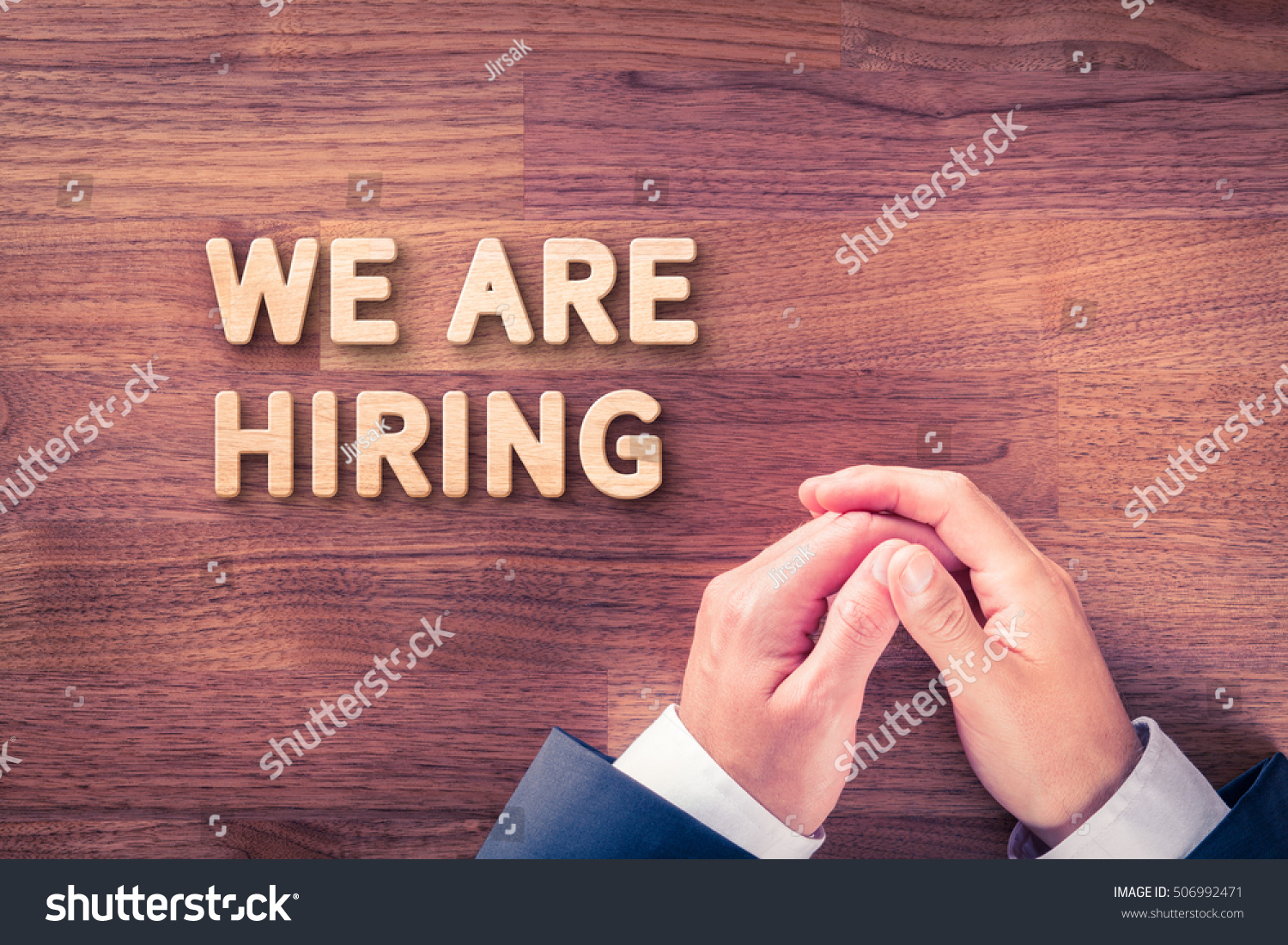 royalty headhunter recruiter and text we are  headhunter recruiter and text we are hiring human resources concept stock photo