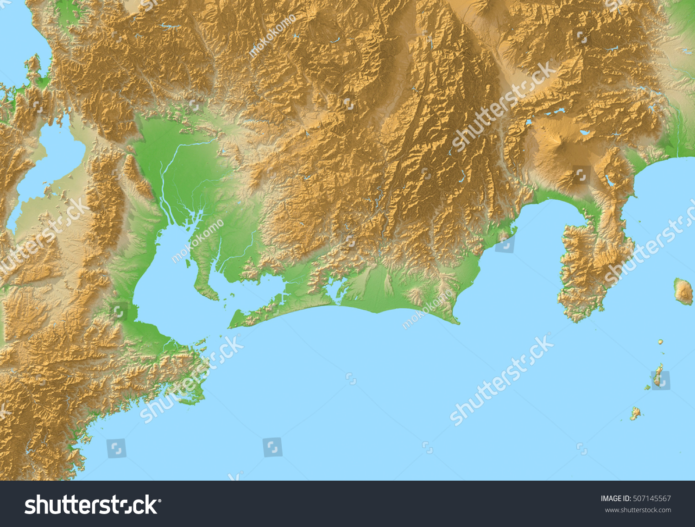 Japan Mapaichi Nagoya Stock Illustration Shutterstock - Japan map aichi