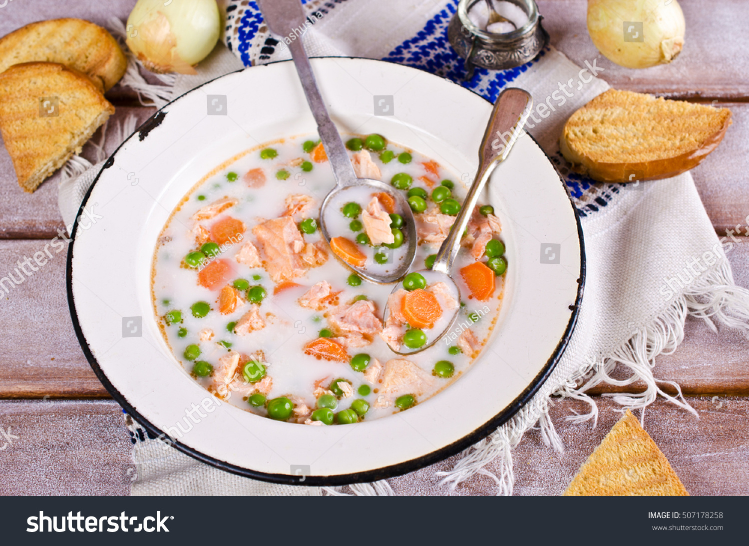 how to make fish soup with vegetables