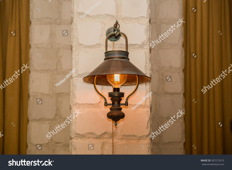Retro classic style street electric iron lamp | EZ Canvas