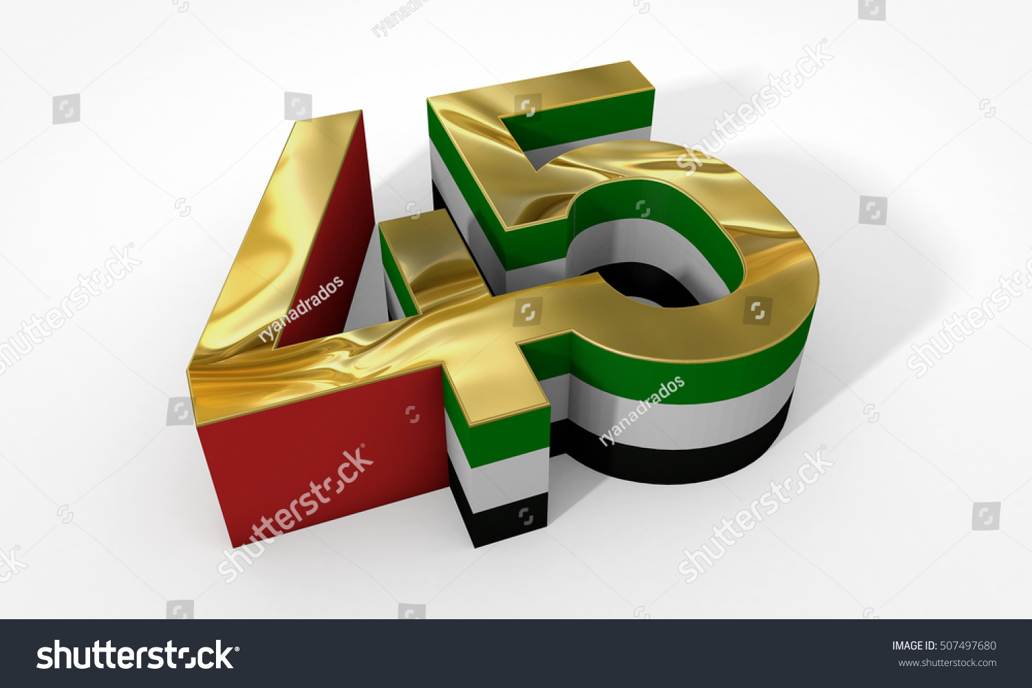 45 uae national day 3d rendering stock illustration 507497680 45 uae national day 3d rendering biocorpaavc Images