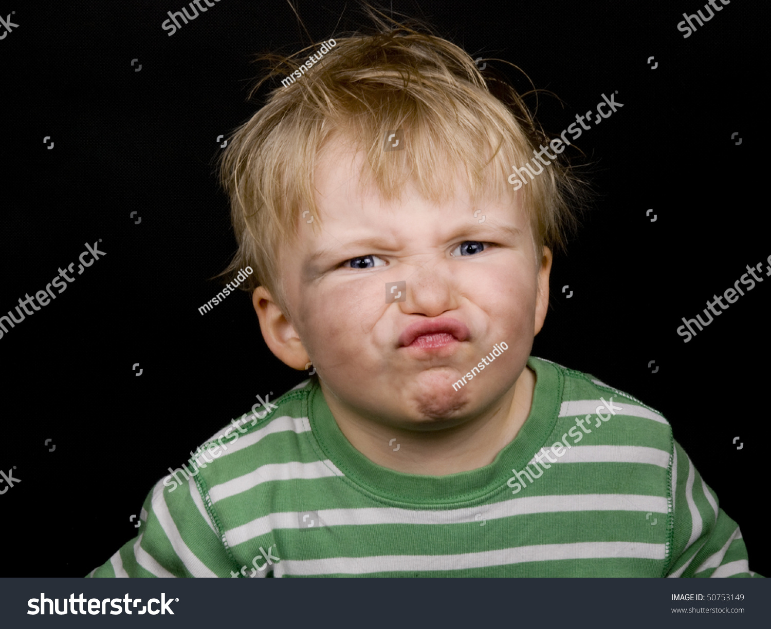 Little Boy Making Funny Face On Stock Photo Edit Now 50753149
