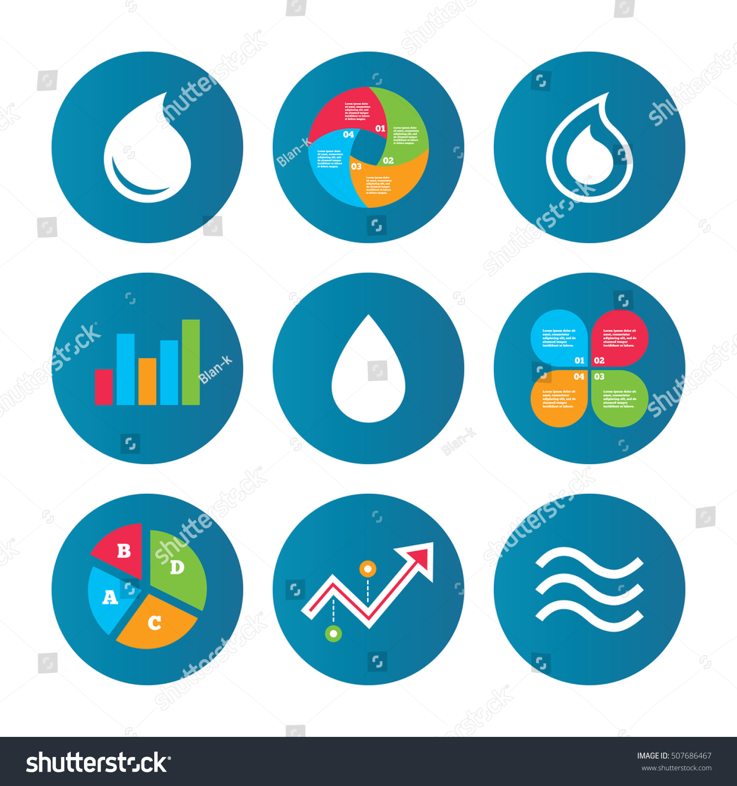 Oil symbol stock choice image symbol and sign ideas water drop icons tear oil symbols stock vector 507686467 tear or oil symbols buycottarizona buycottarizona