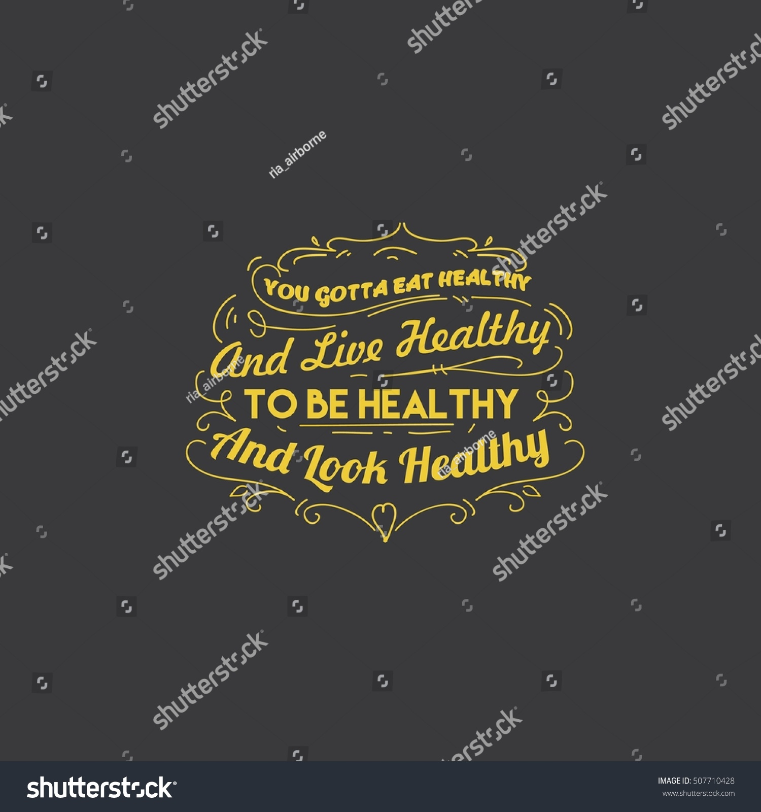 Good Health Quotes Health Quotes Good Food Quotes Stock Vector 507710428  Shutterstock