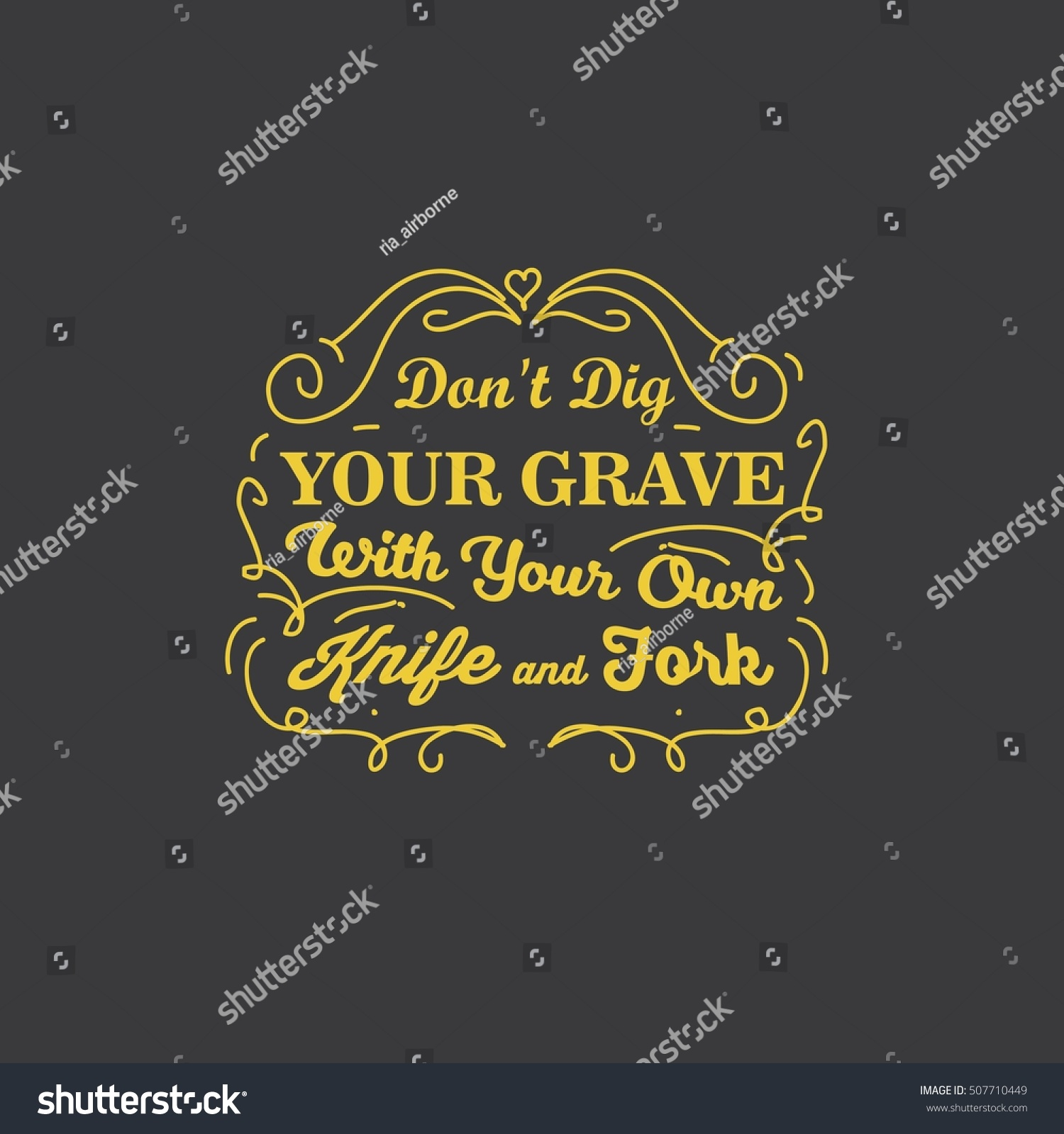 Good Health Quotes Health Quotes Good Food Quotes Stock Vector 507710449  Shutterstock