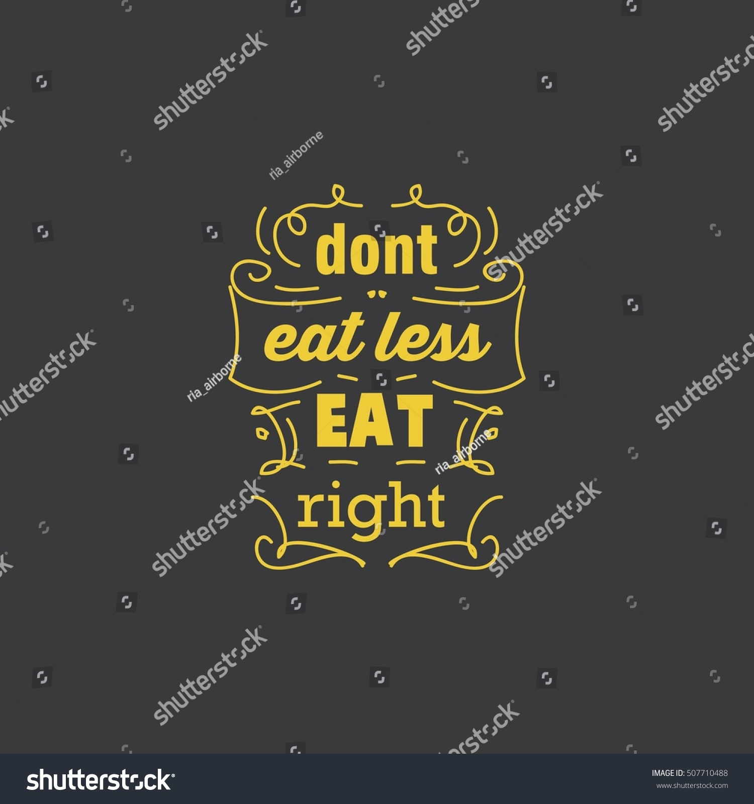 Good Health Quotes Health Quotes Good Food Quotes Stock Vector 507710488  Shutterstock