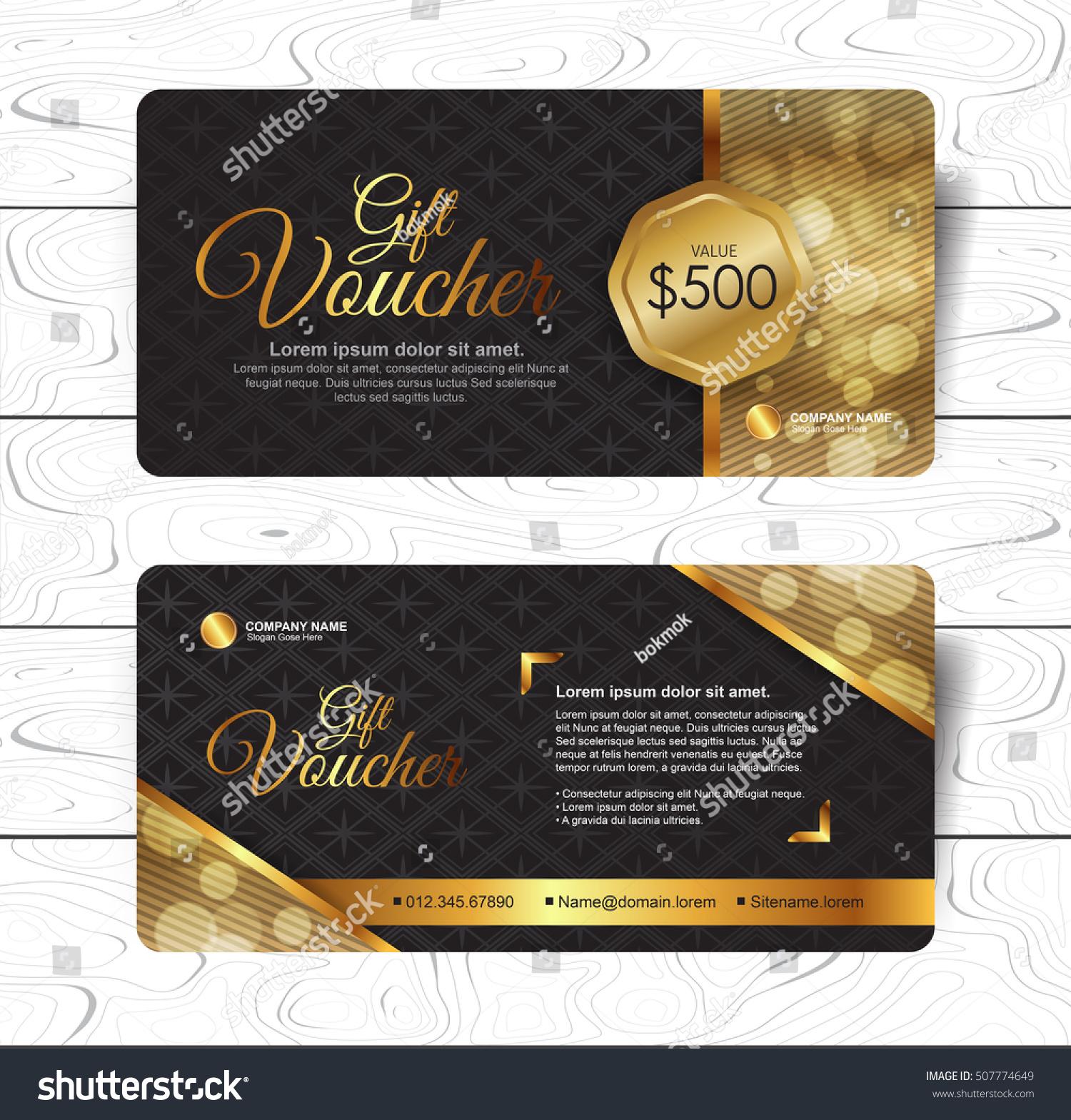 Gift Voucher Template Luxury Patternrestaurant Voucher – Lunch Voucher Template