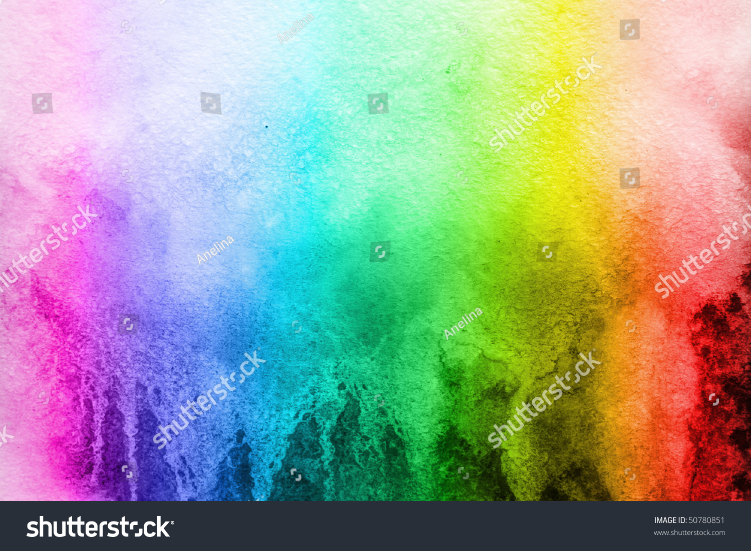 Watercolor Background Color Rainbow Stock Photo 50780851 All Backgrounds Color