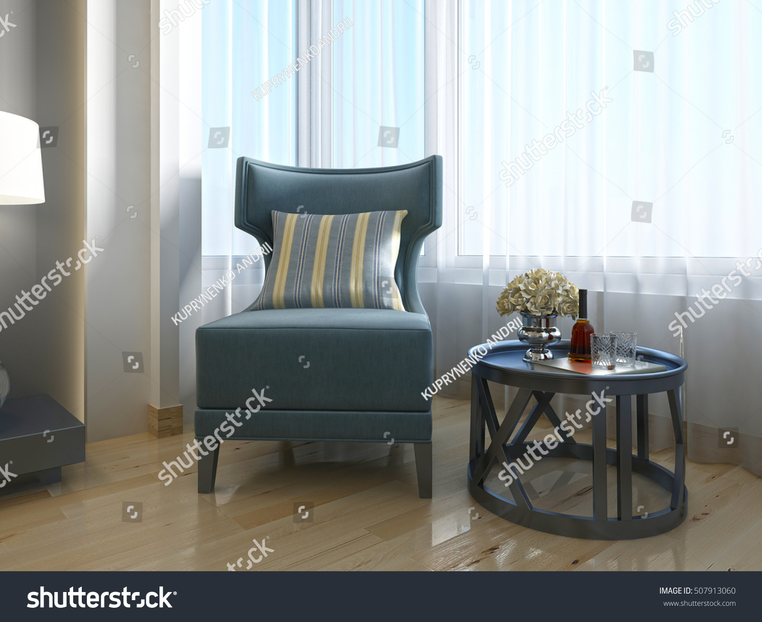 Royalty Free Stock Illustration Of Luxurious Lounge Chair