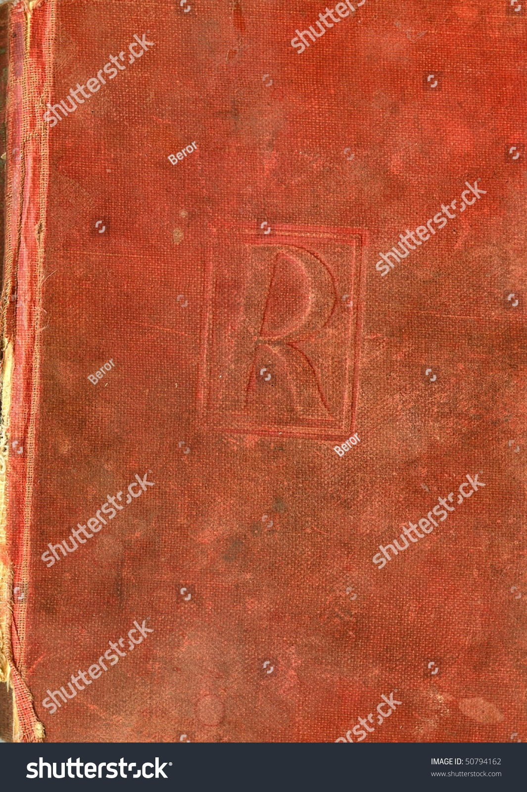 Old Red Book Cover : Front cover old red book stock photo shutterstock