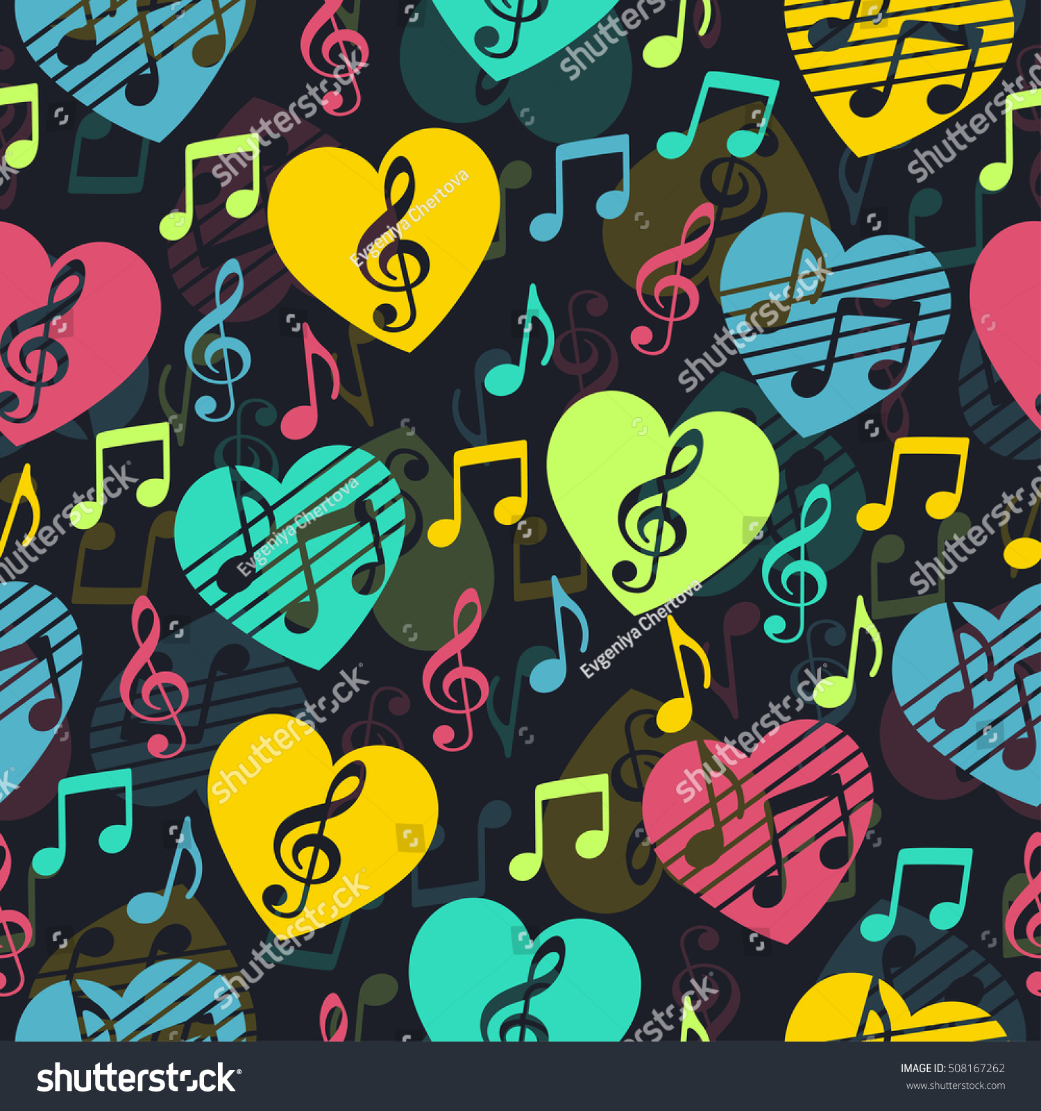 love music musical abstract vector background stock vector 508167262