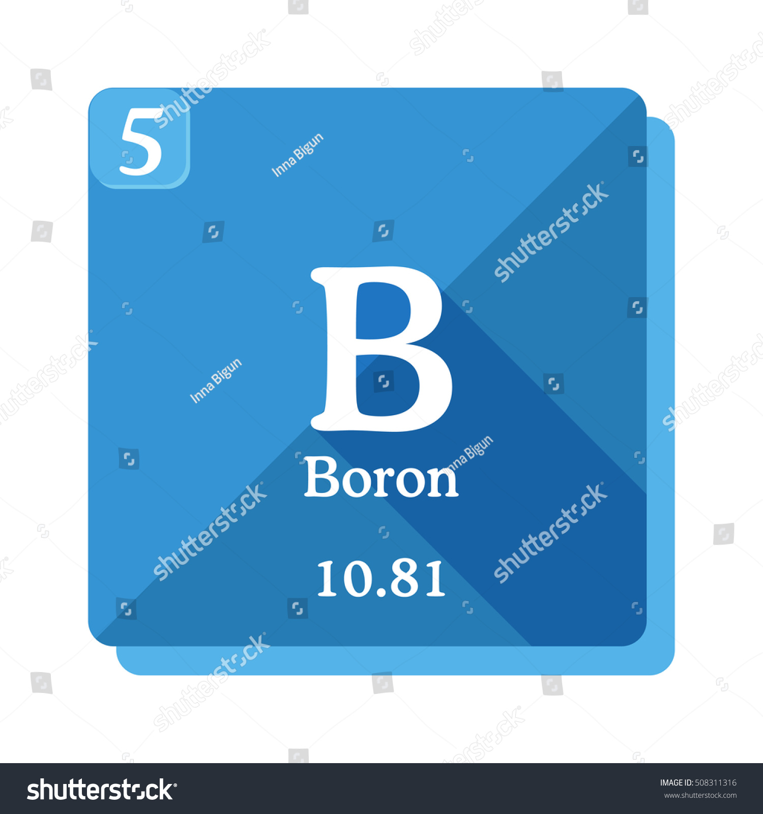 The symbol of boron images symbol and sign ideas boron chemical element periodic table elements stock vector boron chemical element periodic table of the elements buycottarizona