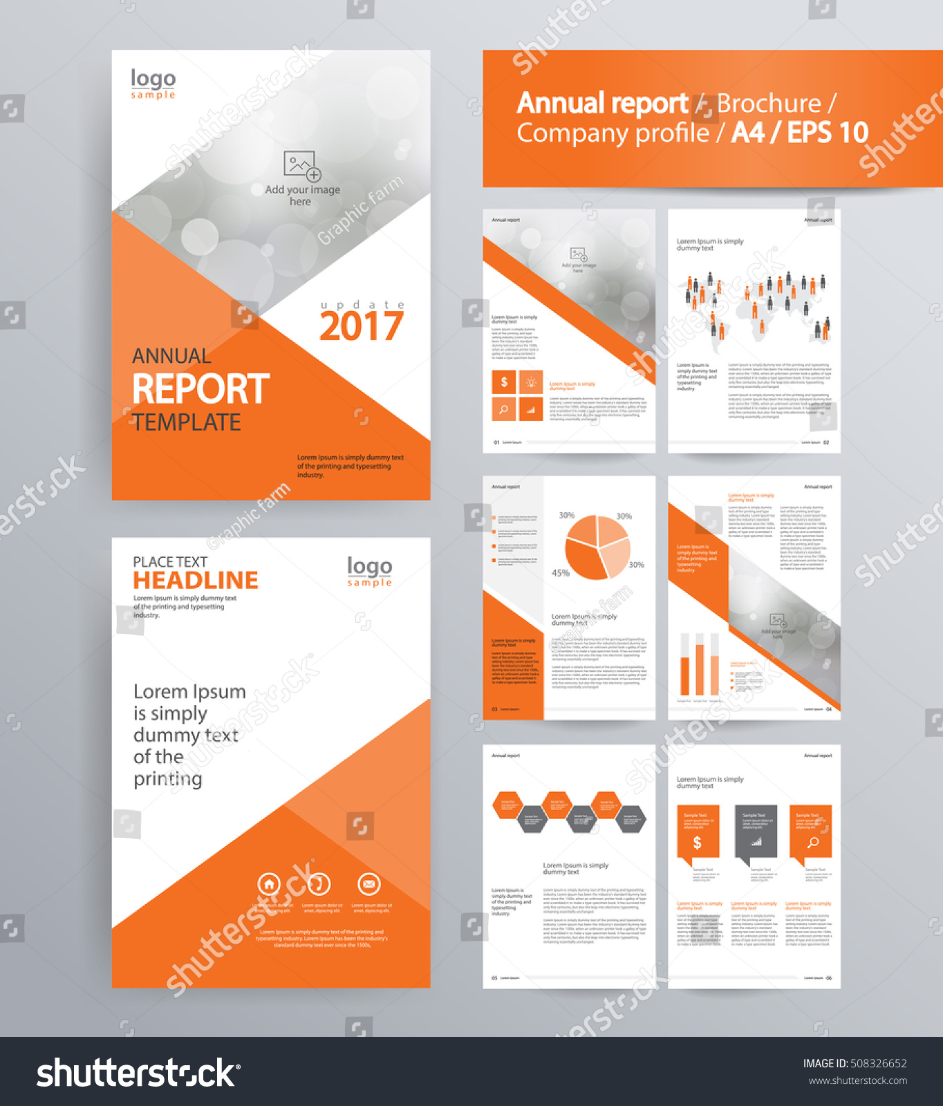 page layout for company profile annual report brochure and page layout for company profile annual report brochure and flyer layout template