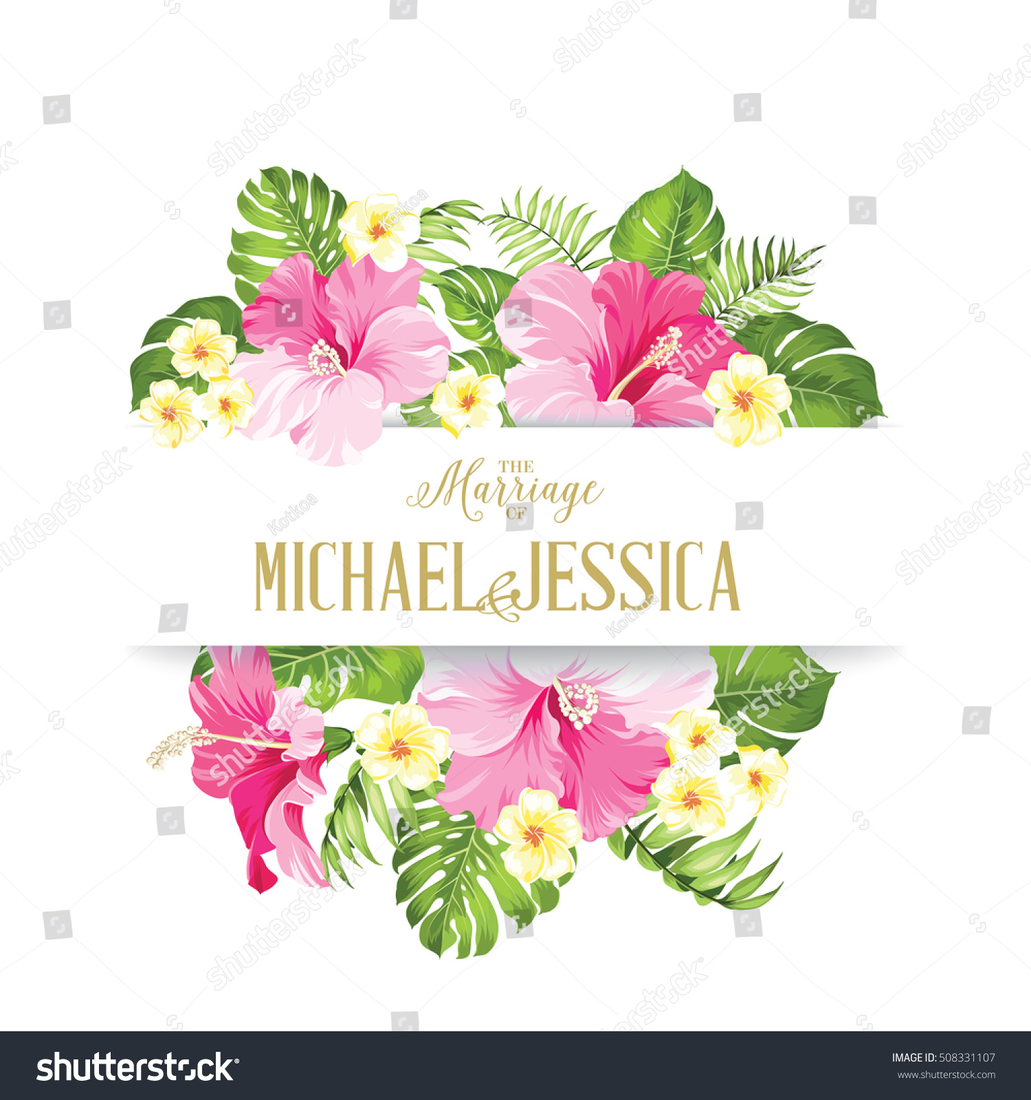 Marriage card wedding invitation card template imagem vetorial de marriage card wedding invitation card template imagem vetorial de banco 508331107 shutterstock stopboris