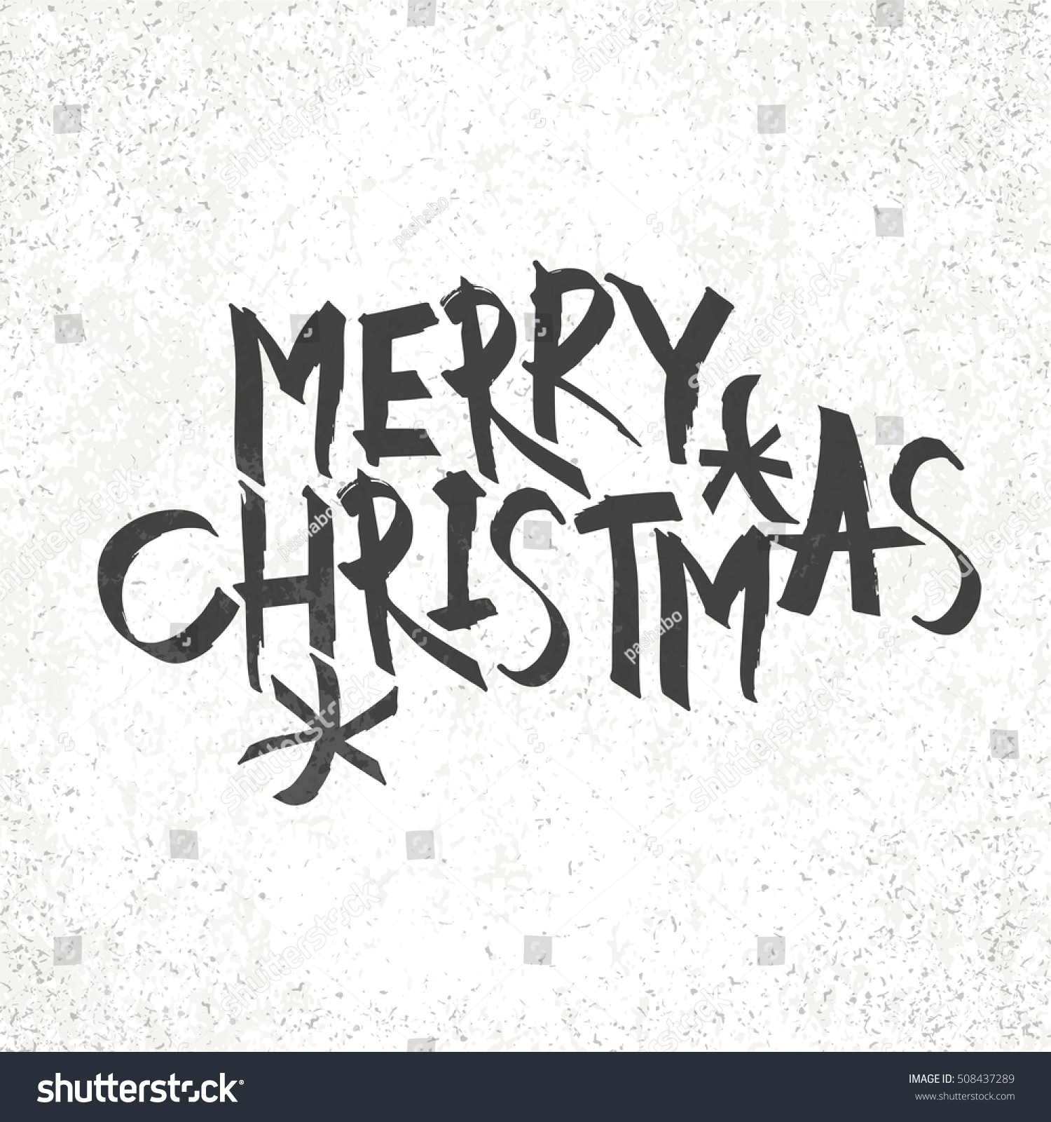 Pics photos merry christmas argyle twitter backgrounds - Merry Christmas Vintage Monochrome Lettering With Snowflake Symbol On Background