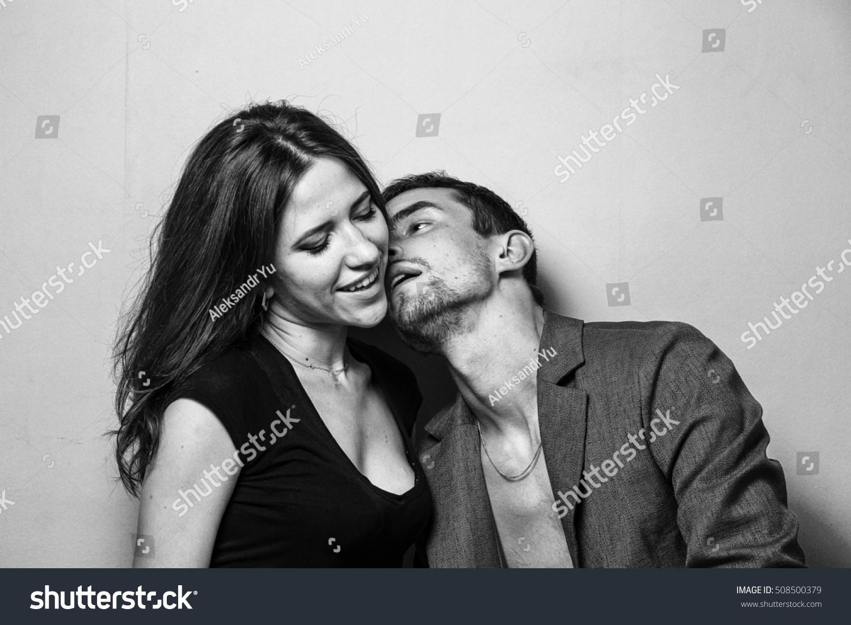Black White Girl Kissing
