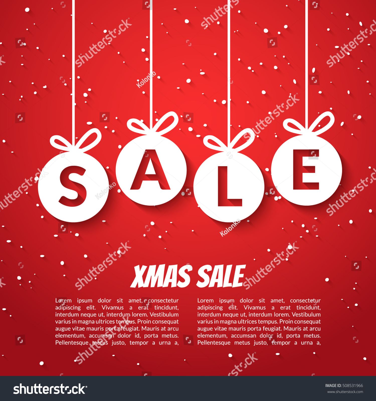 sales poster template