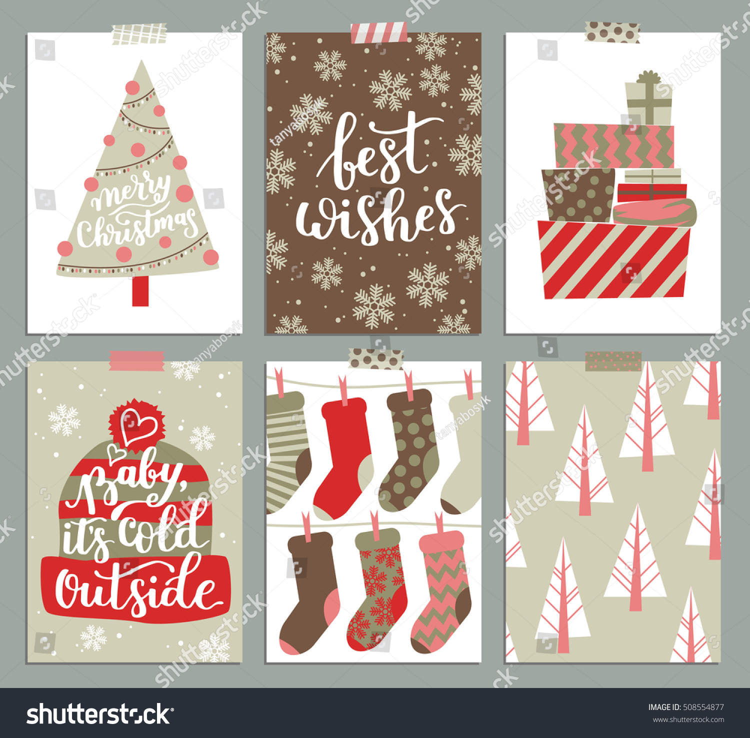 vector collection christmas poster templates christmas stock vector collection of christmas poster templates christmas set of christmas greeting cards bright colors