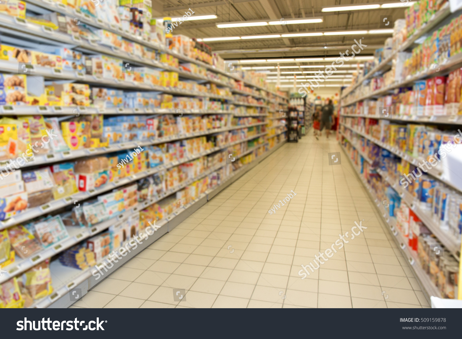 Grocery Store Aisle Category