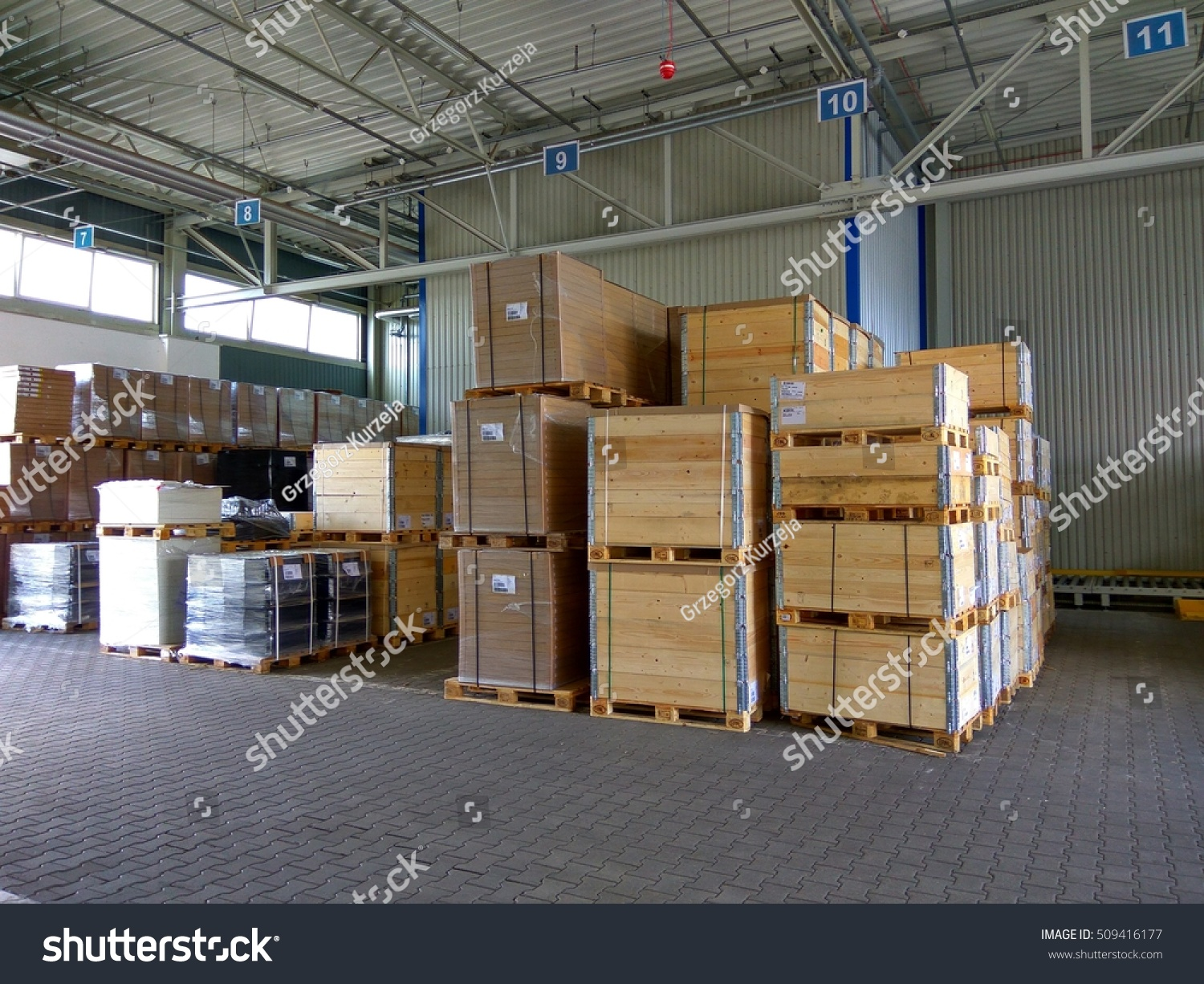 Warehouse Of Wood In The Furniture Factory Stock Photo 509416177 Shutterstock