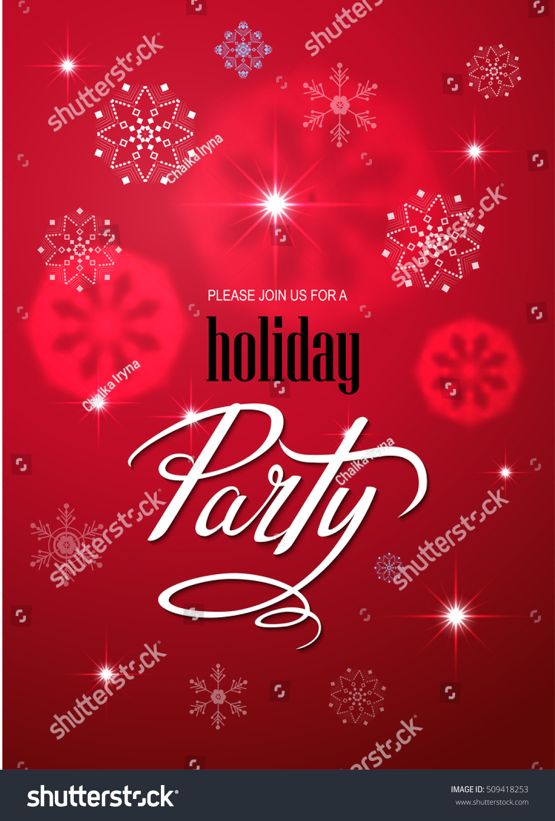 merry christmas party invitation and happy new year party invitation card christmas party poster holiday design
