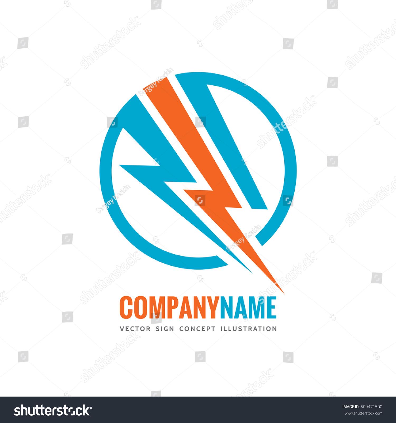 Electronic Technology Vector Logo Template Concept Stock Vector ...