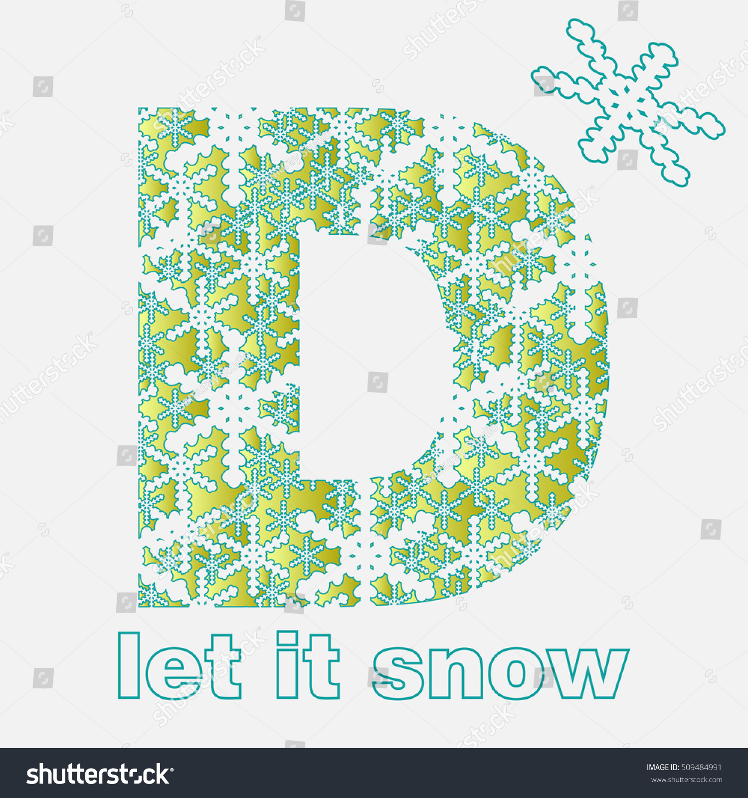 Snow alphabet letters snowflakes letter d stock vector hd royalty snow alphabet letters from snowflakes letter d thecheapjerseys Choice Image
