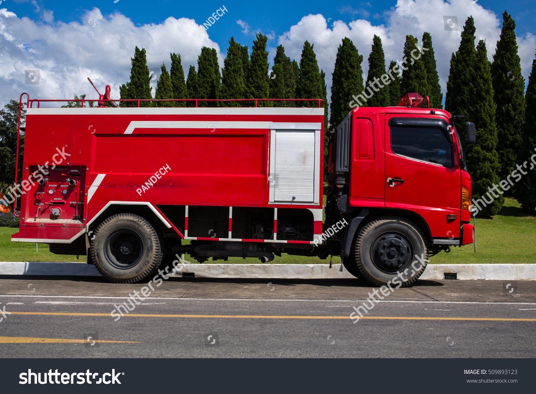 Fire Truck Stock Photo 509893123 Shutterstock