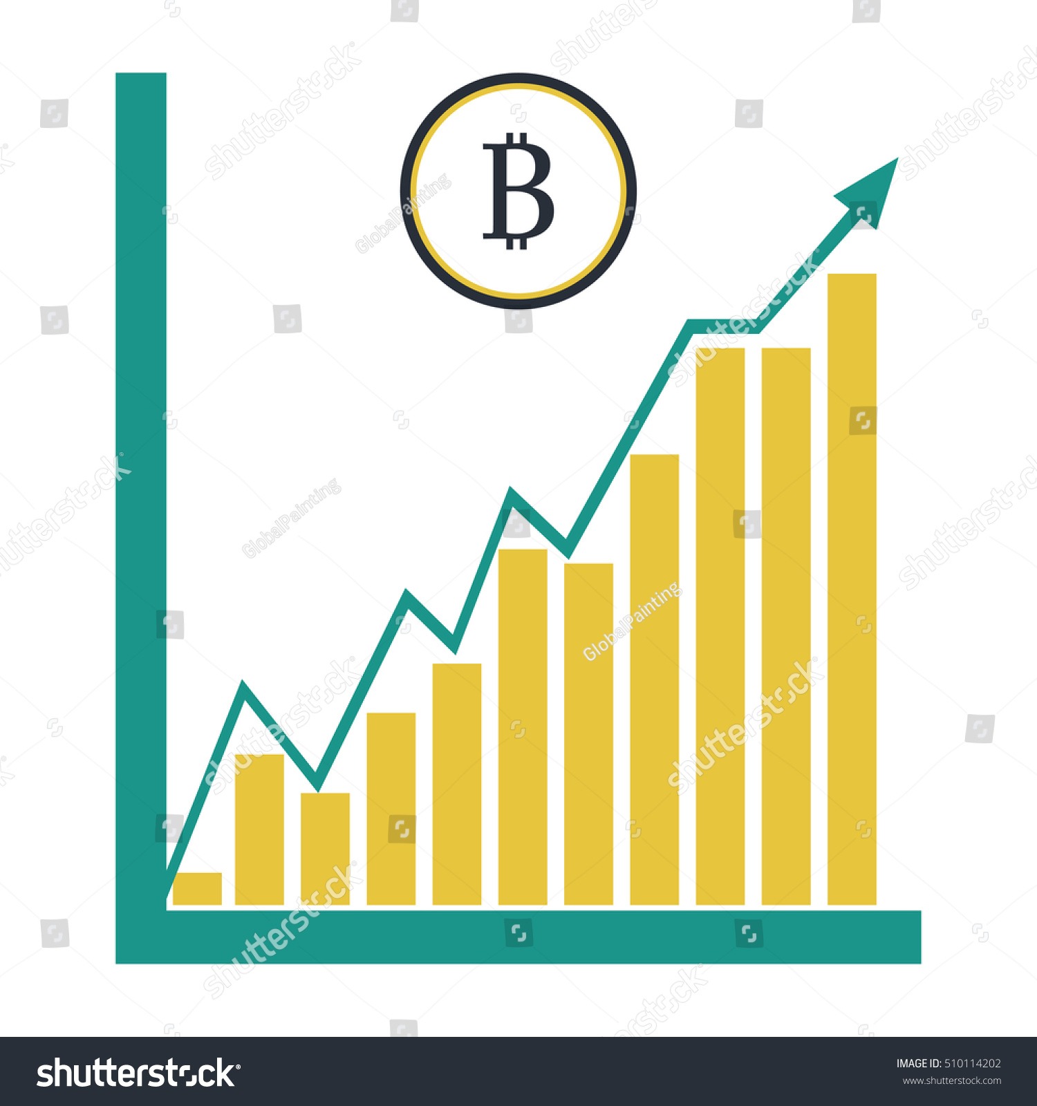 Bitcoin, the course is growing 45