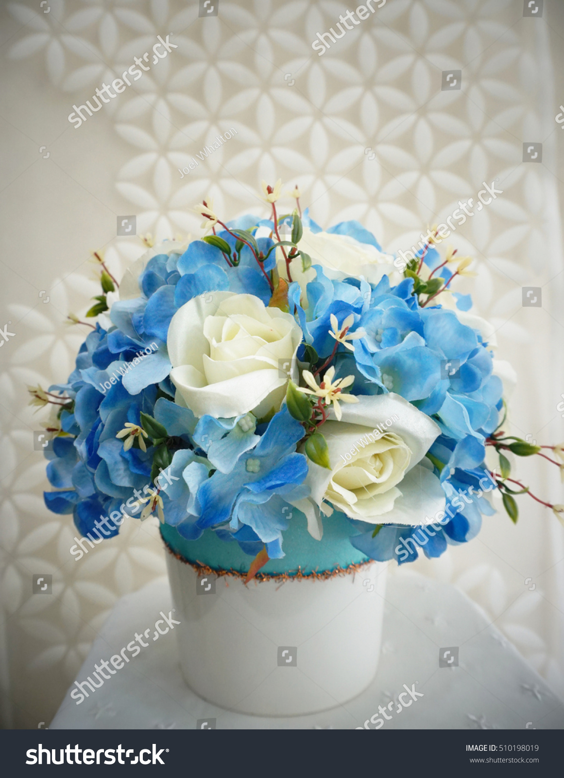 Royalty Free Flower Bouquet Made By Cloth Fibre 510198019 Stock