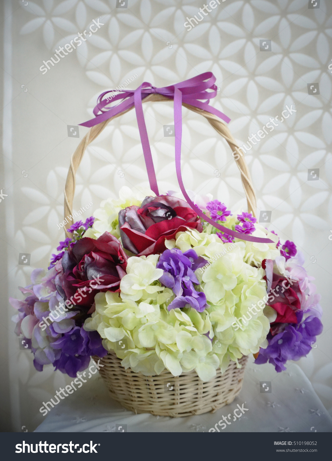 Flower Bouquet Made By Cloth Fibre Stock Photo Edit Now 510198052