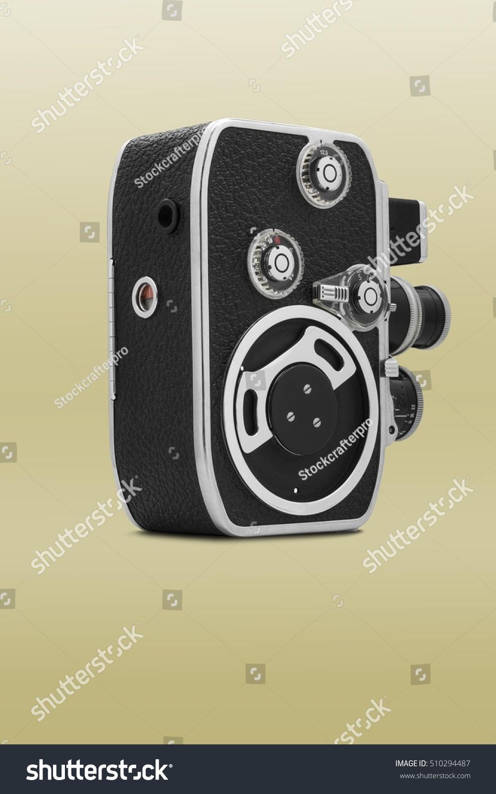 8Mm Vintage Camera vintage old cinema camera 8mm | vintage, technology stock image