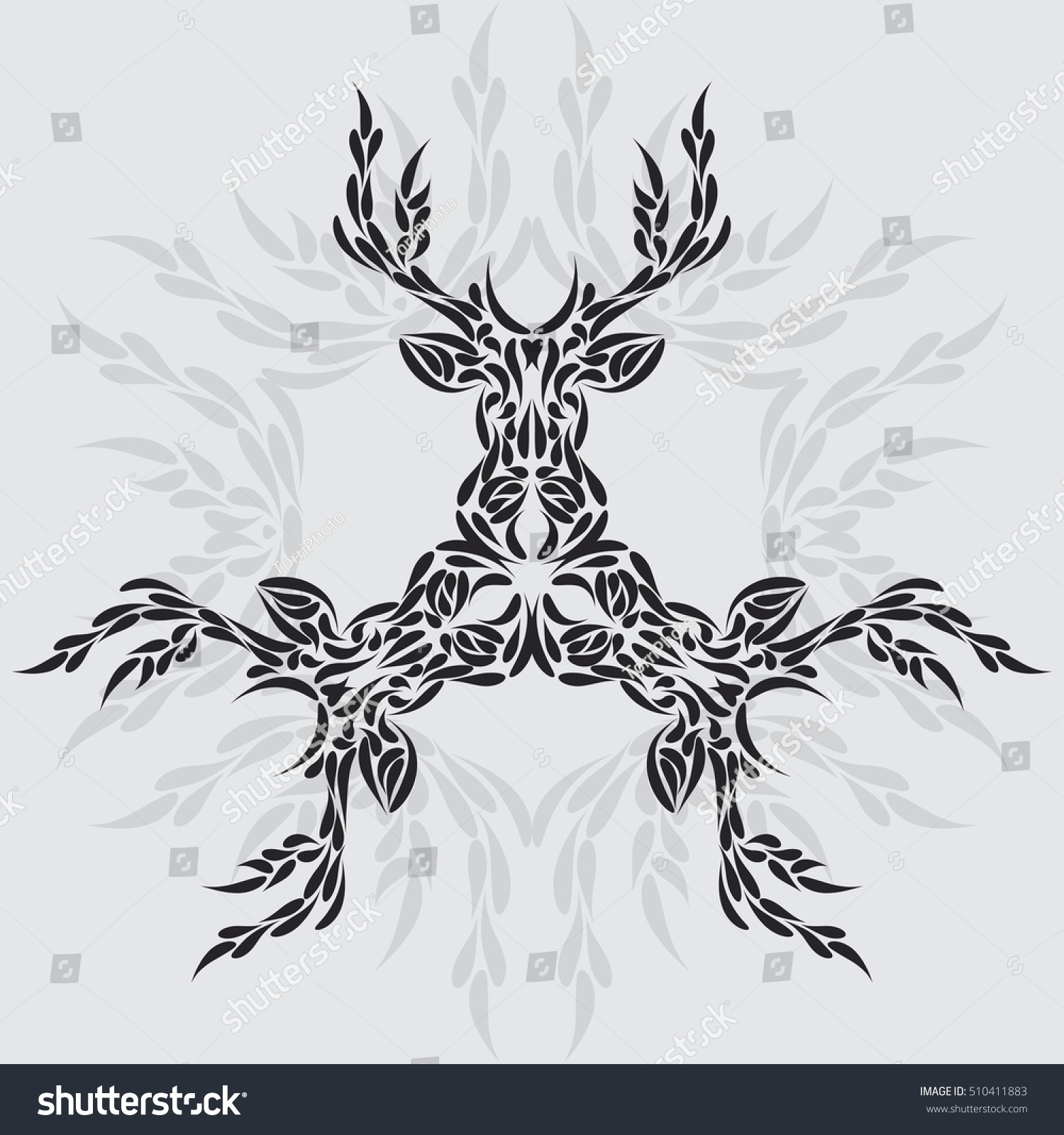 https://www.shutterstock.com/pic-510411883/stock-vector-abstract-symmetric-deer-head-ornament-tribal-tattoo-vector-illustration-eps-8.html