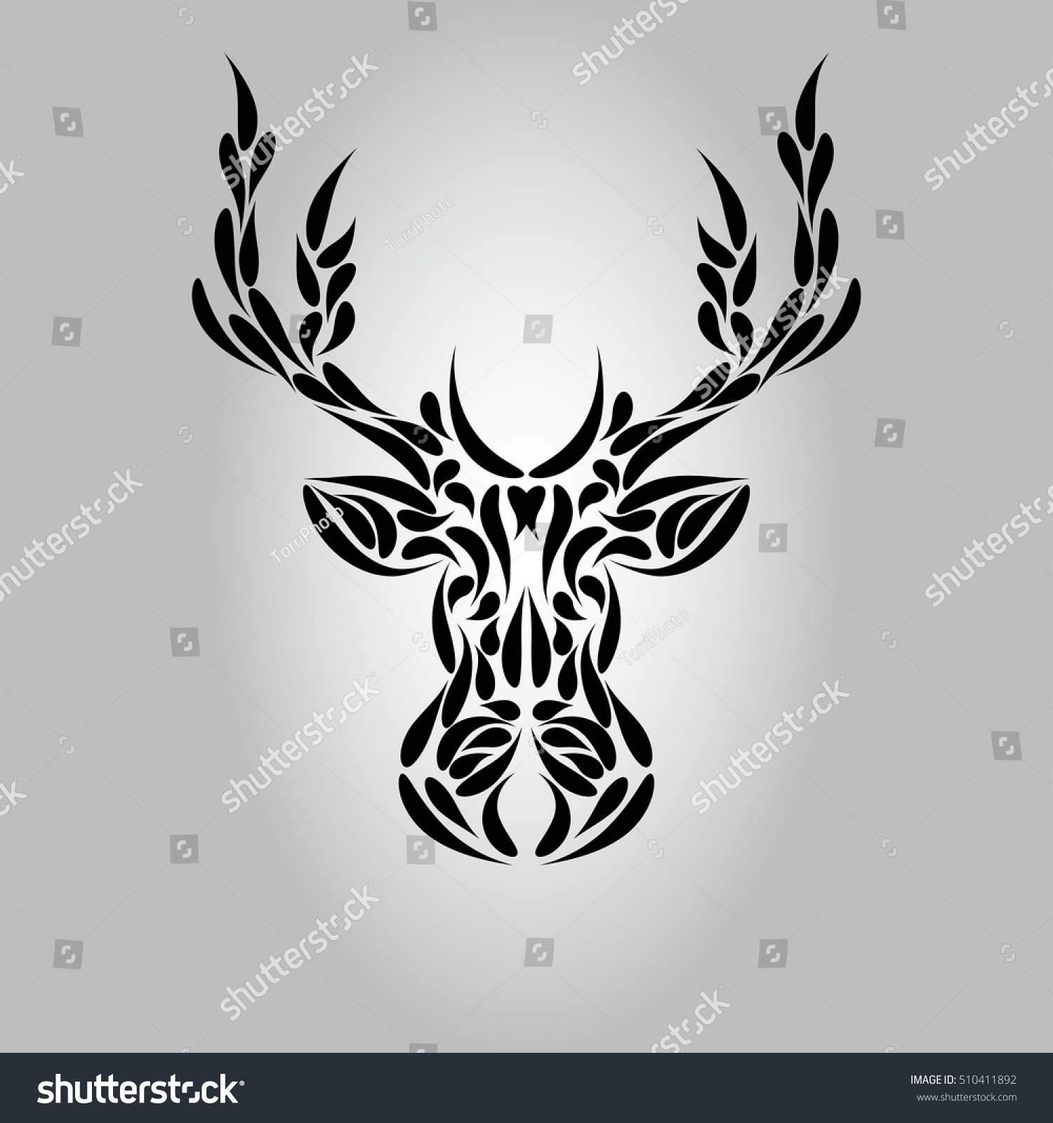 https://www.shutterstock.com/pic-510411892/stock-vector-abstract-symmetric-deer-head-ornament-tribal-tattoo-vector-illustration-eps-10.html?