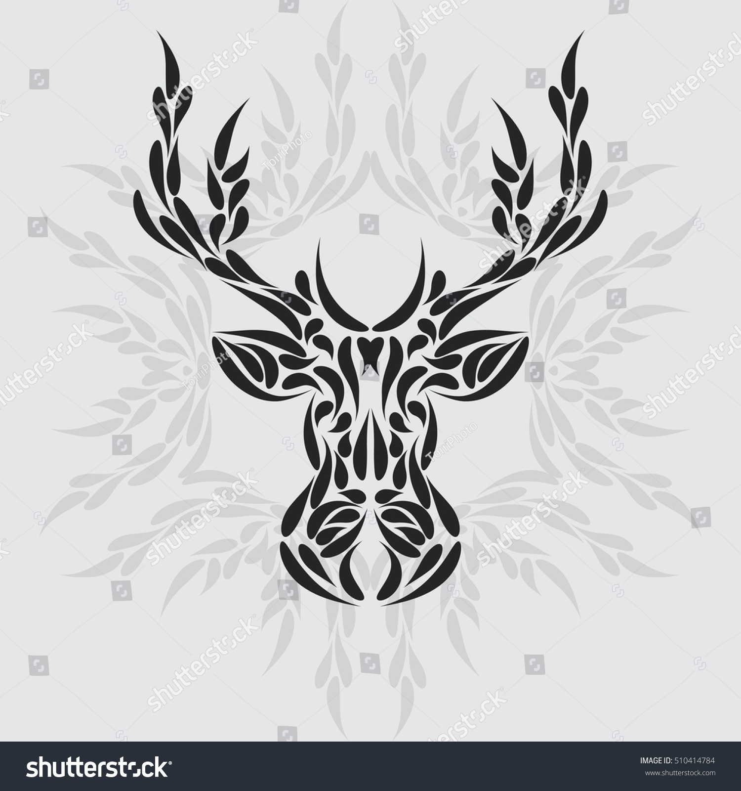 https://www.shutterstock.com/pic-510414784/stock-vector-abstract-symmetric-deer-head-ornament-tribal-tattoo-vector-illustration-eps-8.html