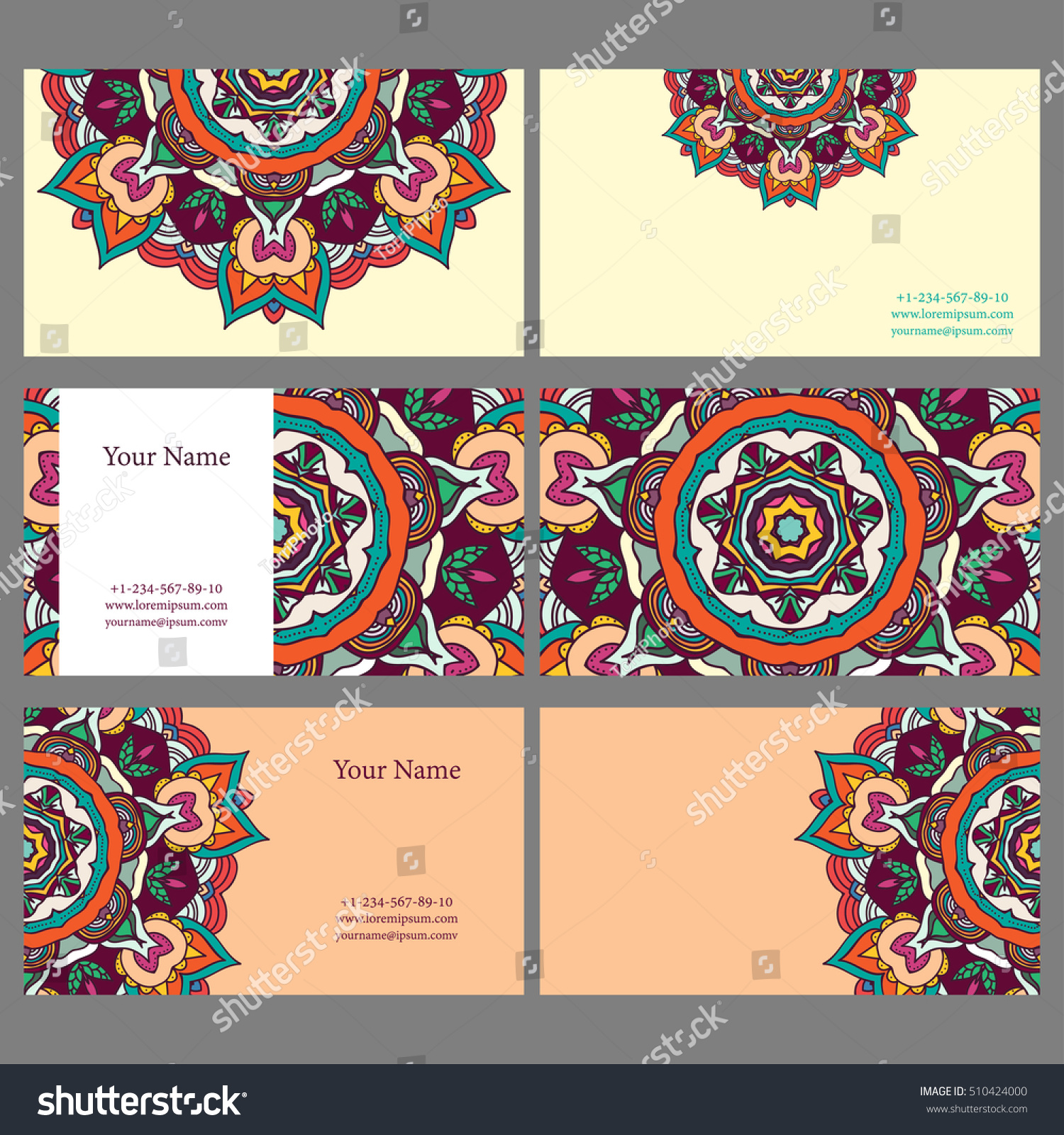 https://www.shutterstock.com/pic-510424000/stock-vector-set-of-colorful-business-cards-with-abstract-mandala-design-vector-illustration-eps-8.html