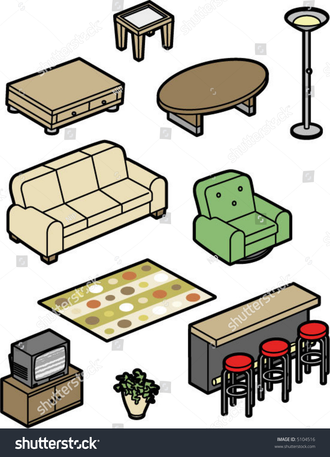 Clip Art Home Furnishing