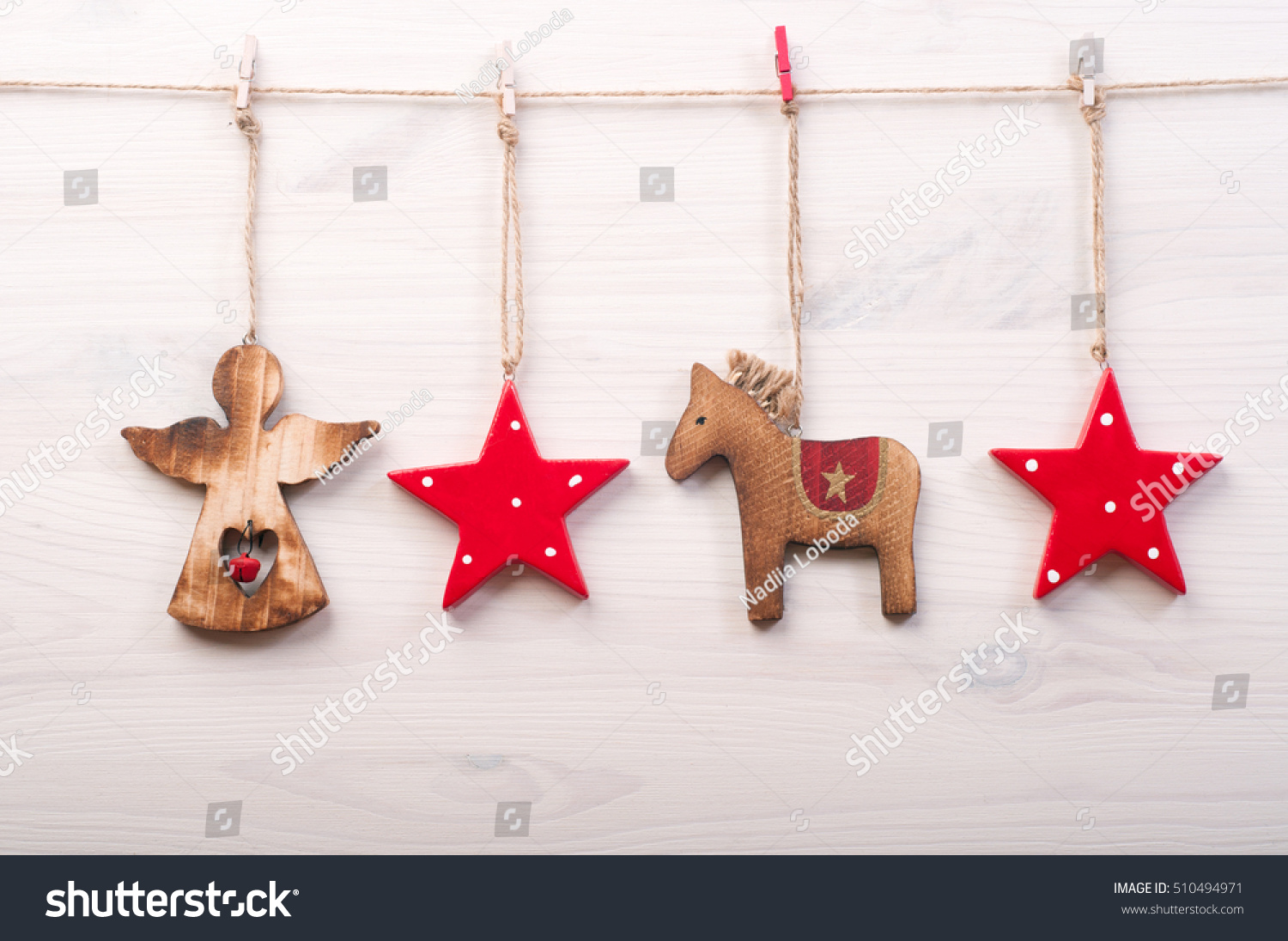 festive christmas and new years background wallpaper or card christmas toys in a