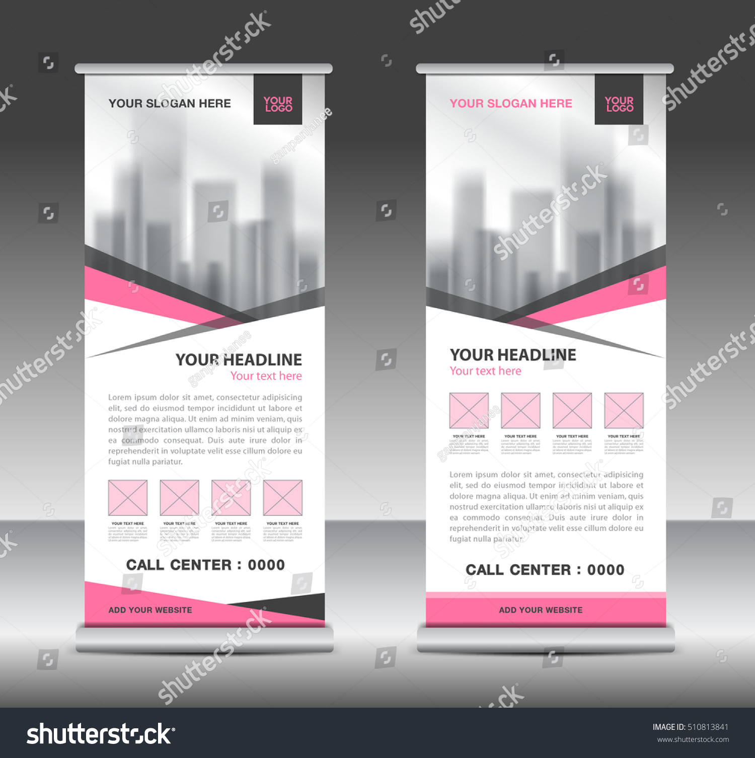 pink roll up business brochure flyer banner design vertical pink roll up business brochure flyer banner design vertical template vector x stand