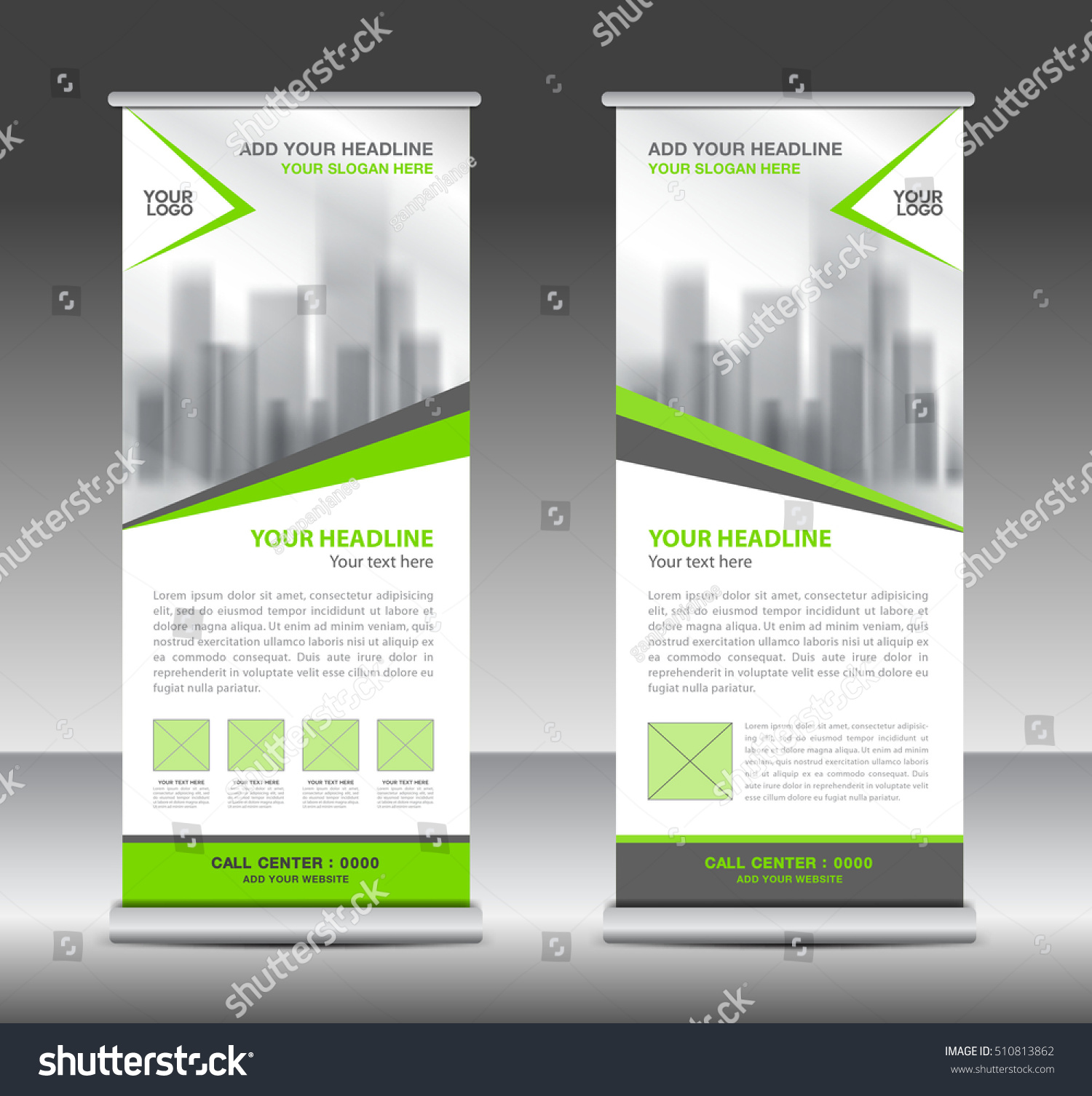 green roll up business brochure flyer banner design vertical green roll up business brochure flyer banner design vertical template vector x stand
