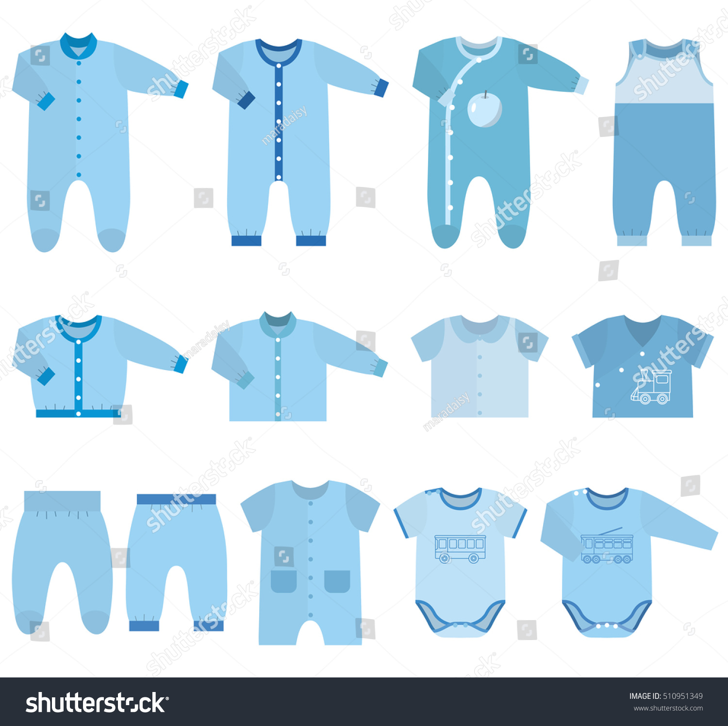 Free Baby Clothes Website Templates