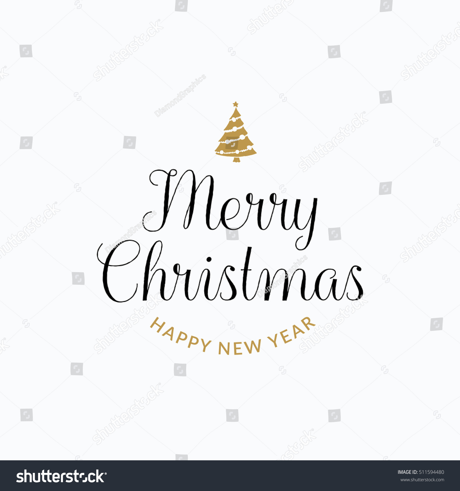 Merry christmas lettering typography handwriting text stock vector merry christmas lettering typography handwriting text design with winter holidays gold icons symbols biocorpaavc Images