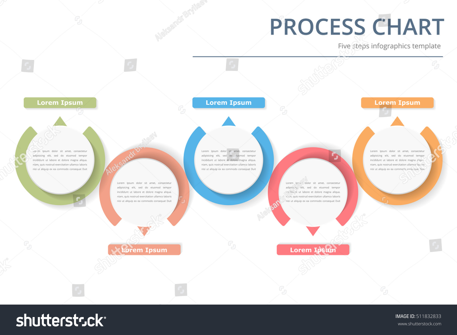 process diagram template circles flowchart workflow stock vector 511832833 shutterstock. Black Bedroom Furniture Sets. Home Design Ideas