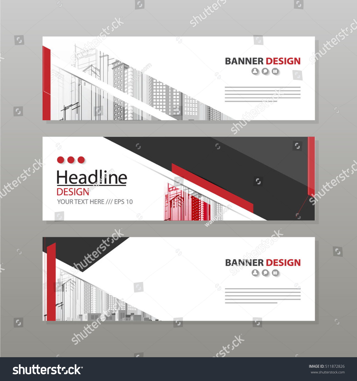 Banner business layout template vector design stock vector 2018 banner business layout template vector design flashek Gallery