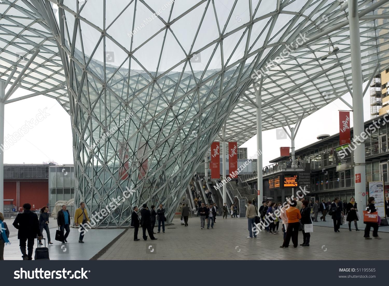 Milan italy april 15 entrance fiera milano rho 24th - Fiera design milano ...